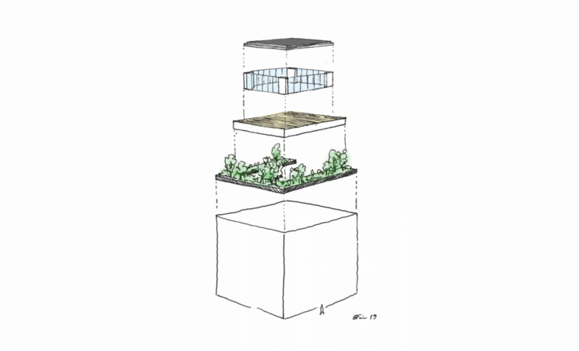 Cubo JK - Drawing