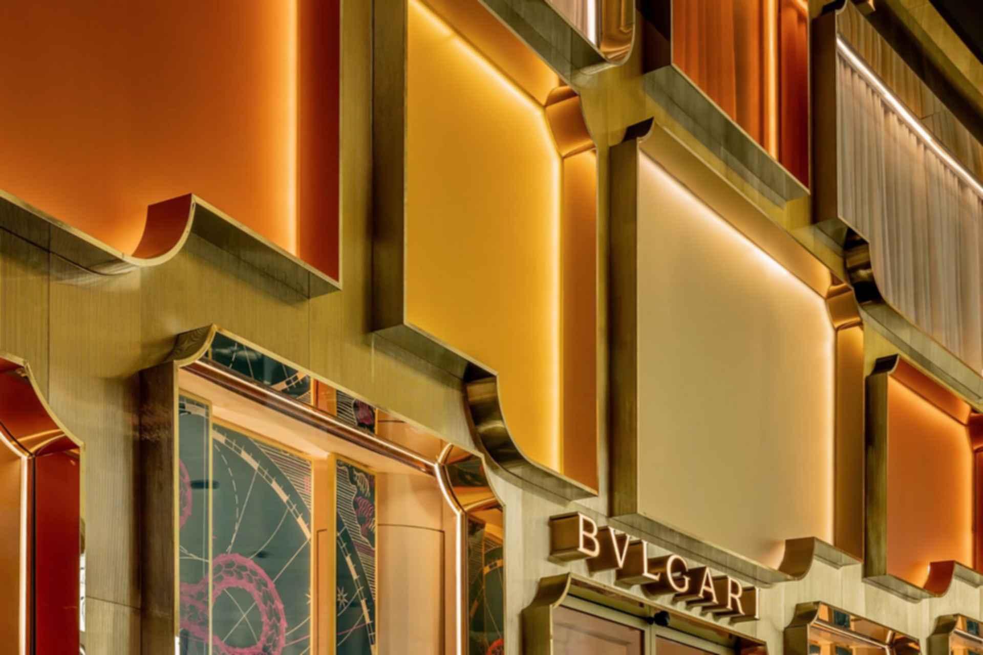 Bvlgari Bangkok Flagship Store - Window Detail