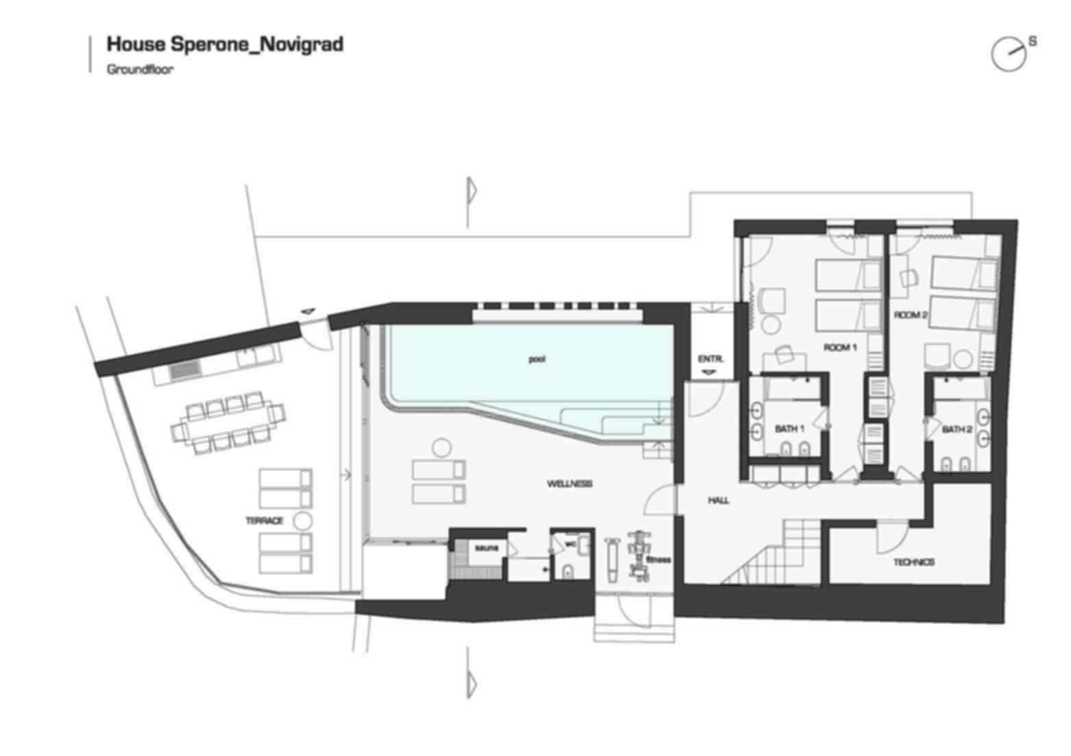 House Sperone - Site Plan