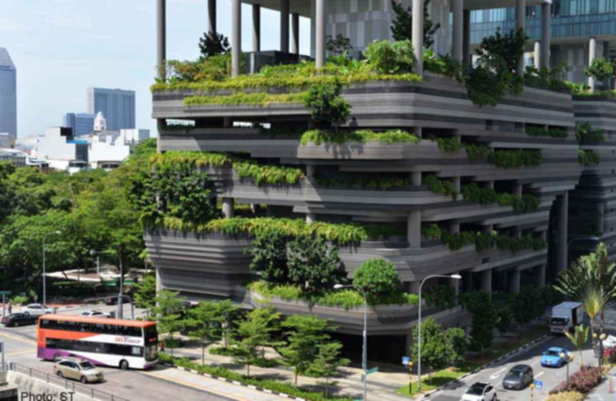 Parkroyal on Pickering - Concept Design