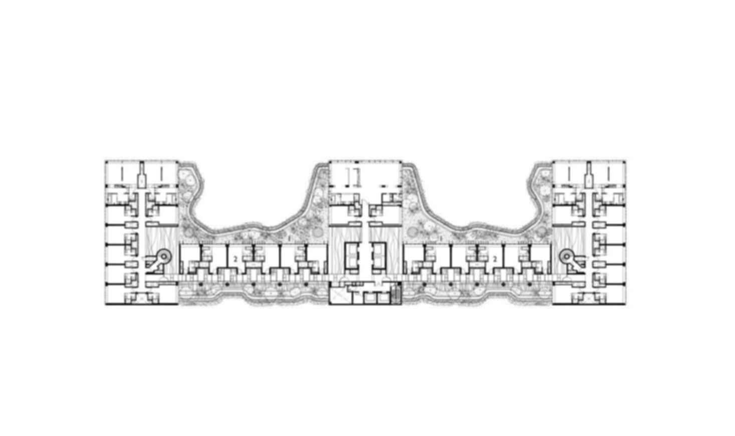 Parkroyal on Pickering - Site Plan