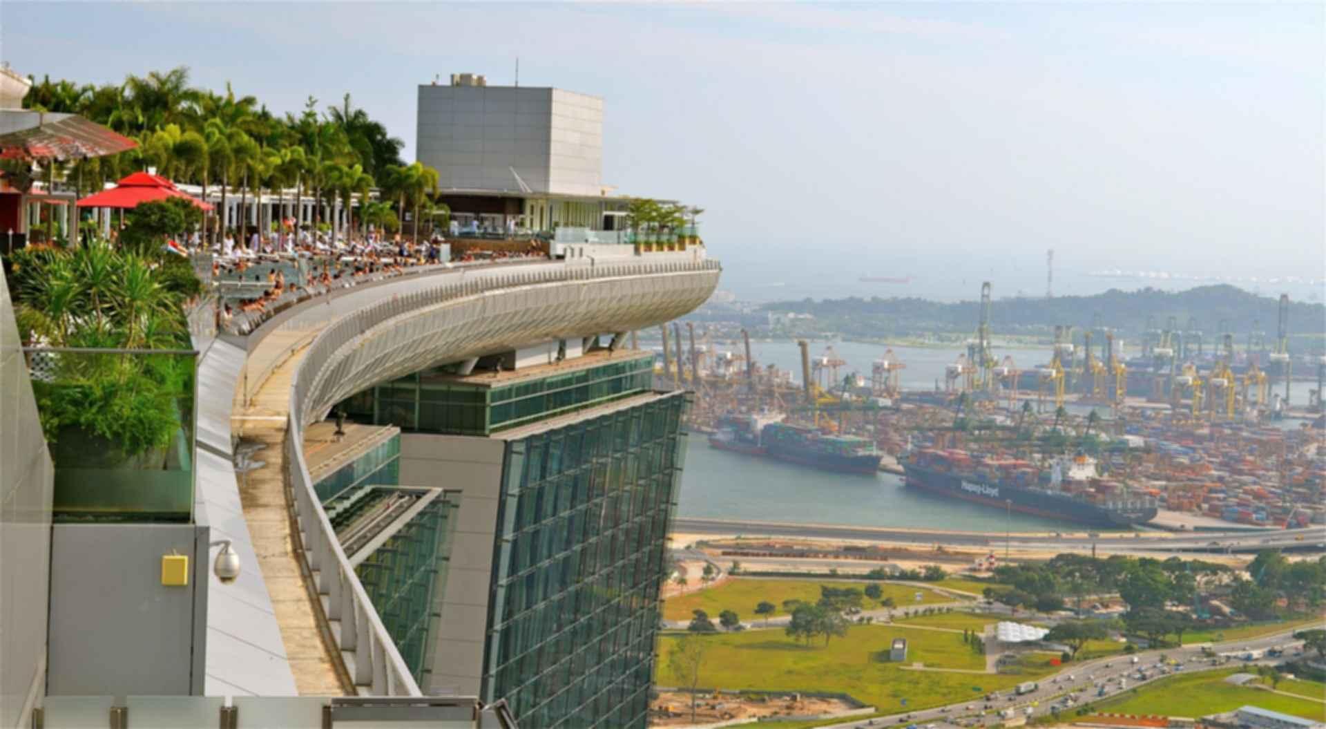 Marina Bay Sands - SkyPark View