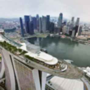 Marina Bay Sands Skypark - View of the Skypark