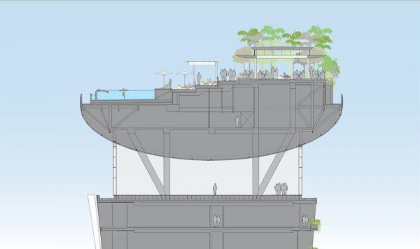 Marina bay sands skypark concept design for Marina bay sands architecture concept