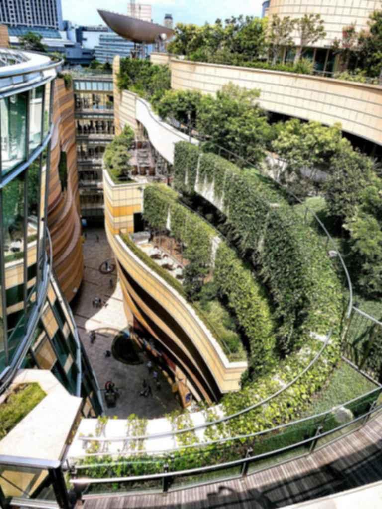 Namba Parks - Balconies