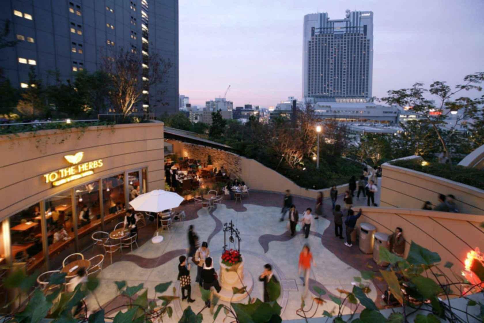 Namba Parks - Courtyard