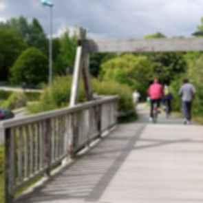 La Coulee Verte - Walkway/Bridge