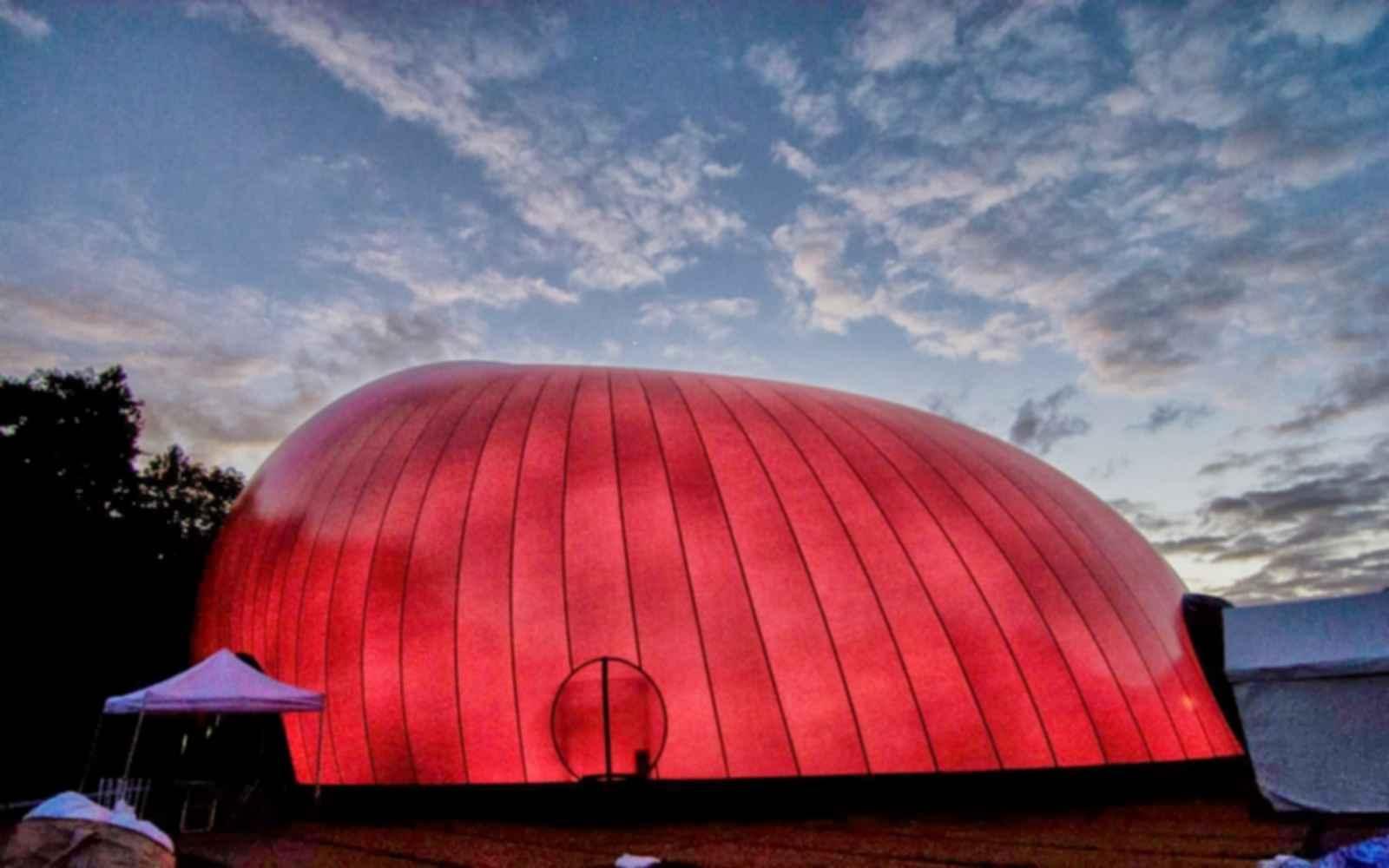 Ark Nova Concert Hall - Exterior
