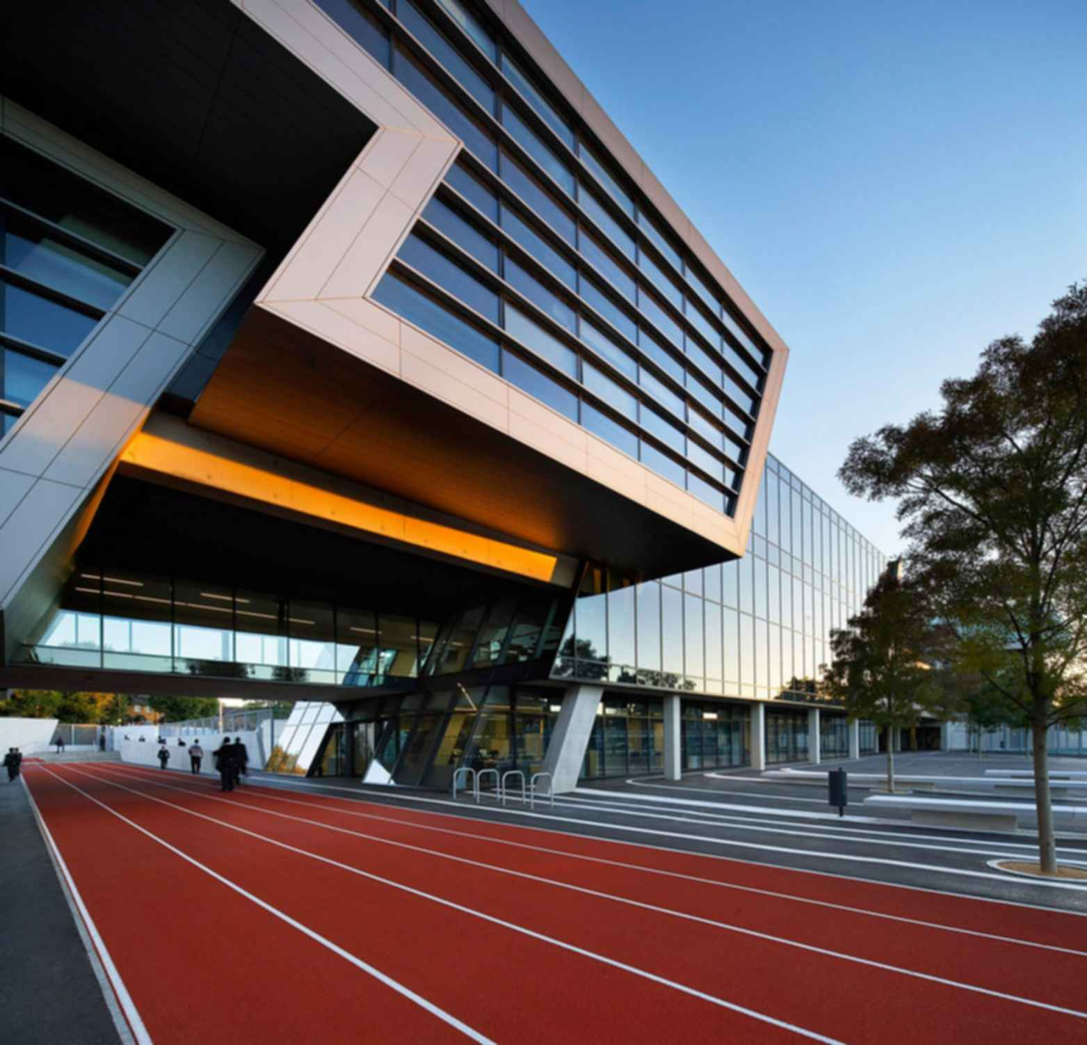 Evelyn Grace Academy - Running Track/Exterior