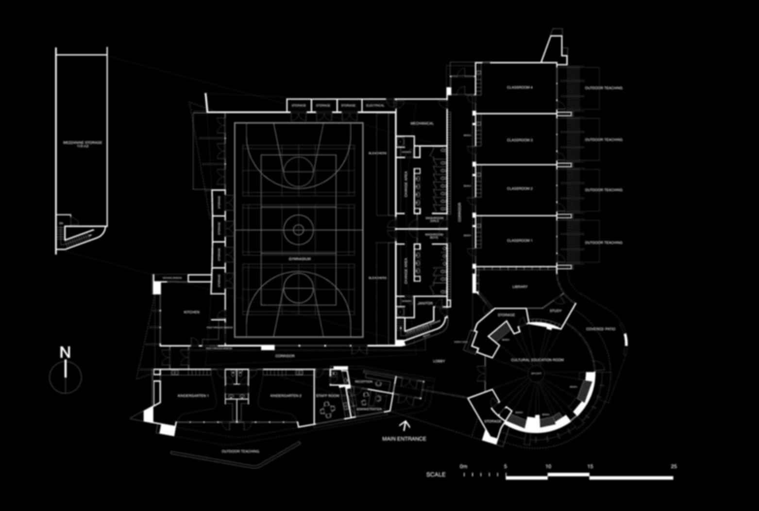 Outma Sqilx'w Cultural School - Site Plan