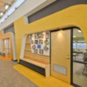 Outma Sqilx'w Cultural School - Interior