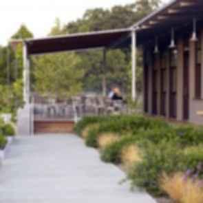 Medlock Ames Tasting Room - Walkway