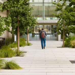 Smith Cardiovascular Research Building Landscape - Walkway