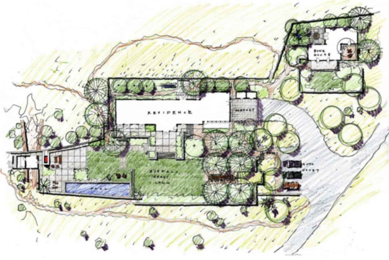 West Texas Ranch - Site Plan