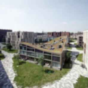 Funnen Blok K, Funenpark - Exterior
