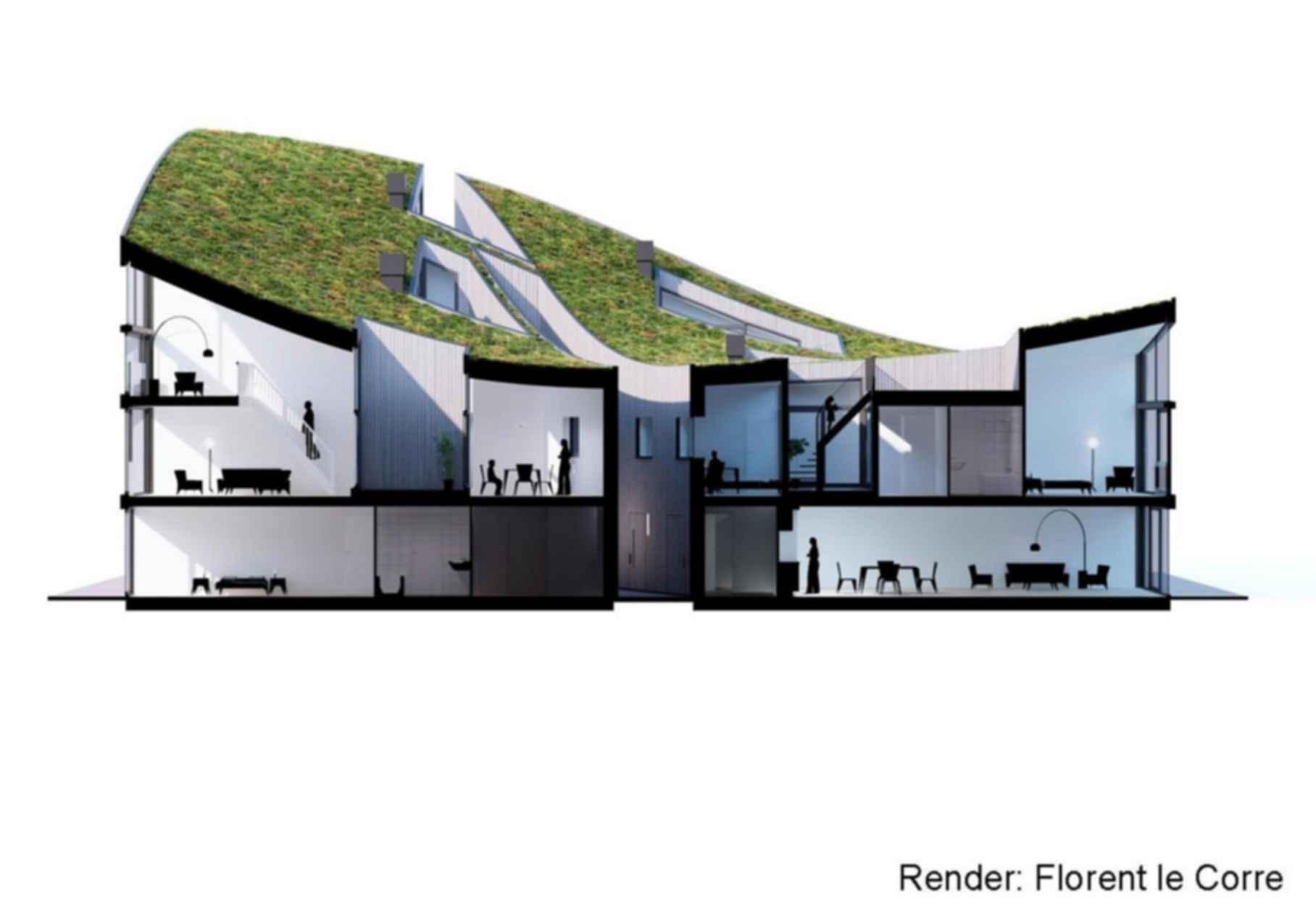 Funnen Blok K, Funenpark - Concept Design