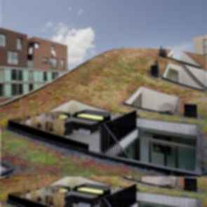 Funnen Blok K, Funenpark - Concept Design of Roof