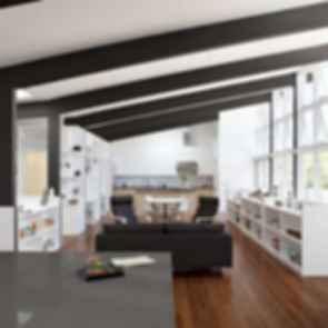 Net Zero Energy House - Lounge