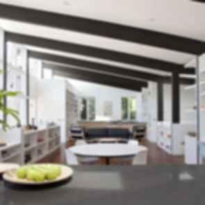 Net Zero Energy House - Interior/Lounge
