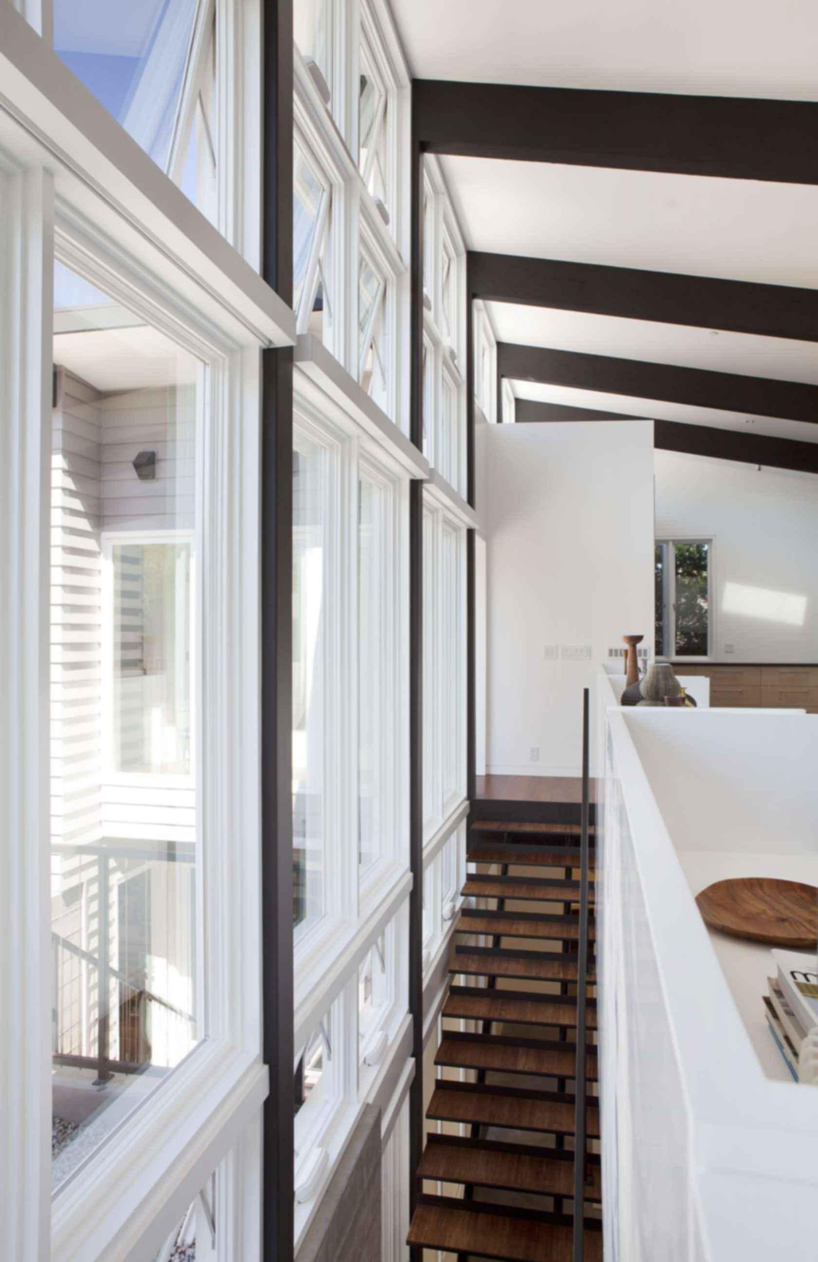 Net Zero Energy House - Interior/Stairs