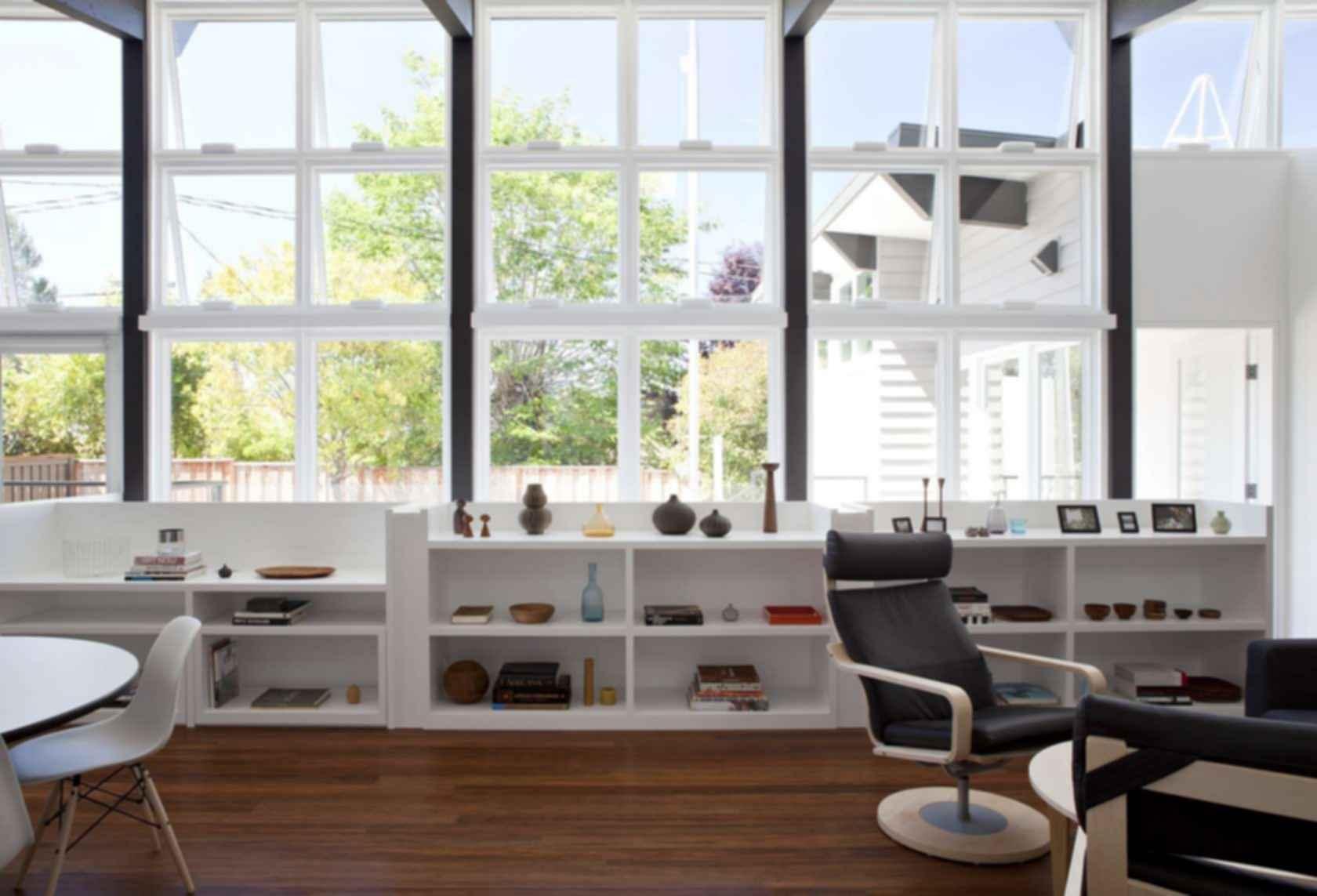 Net Zero Energy House - Interior/Windows