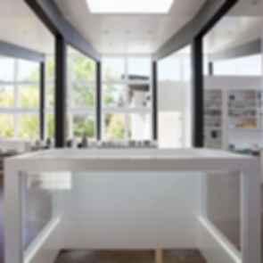 Net Zero Energy House - Interior Beams