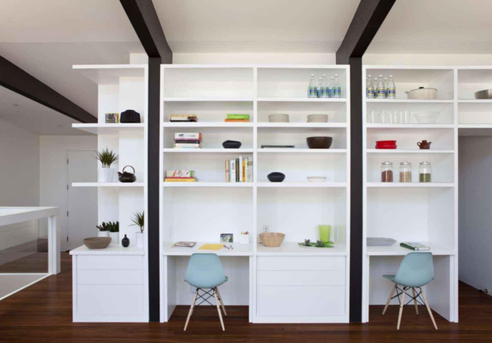 Net Zero Energy House - Interior Storage