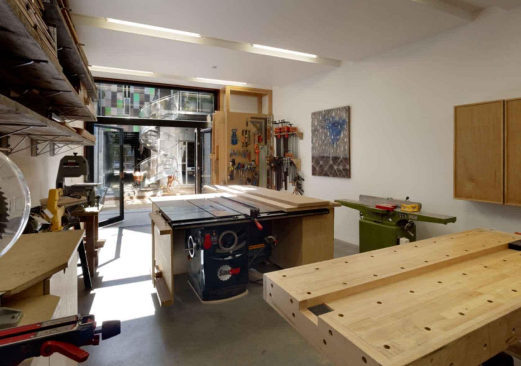 Zero Cottage - Interior/Workshop
