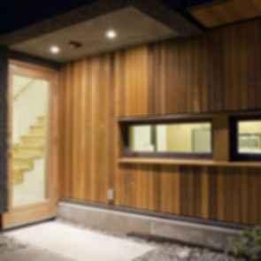 Net Zero Laneway House - Interior Wall