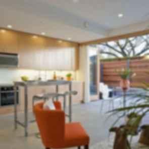 Net Zero Laneway House - Interior Kitchen