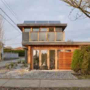Net Zero Laneway House - Exterior