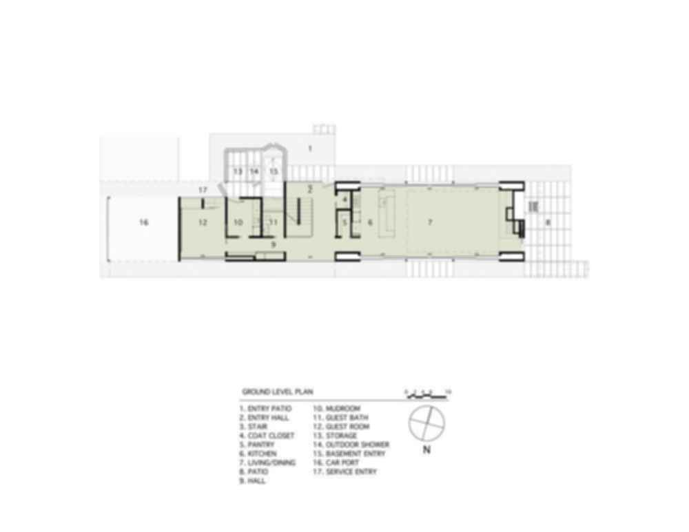Pryor Residence - Floor Plan