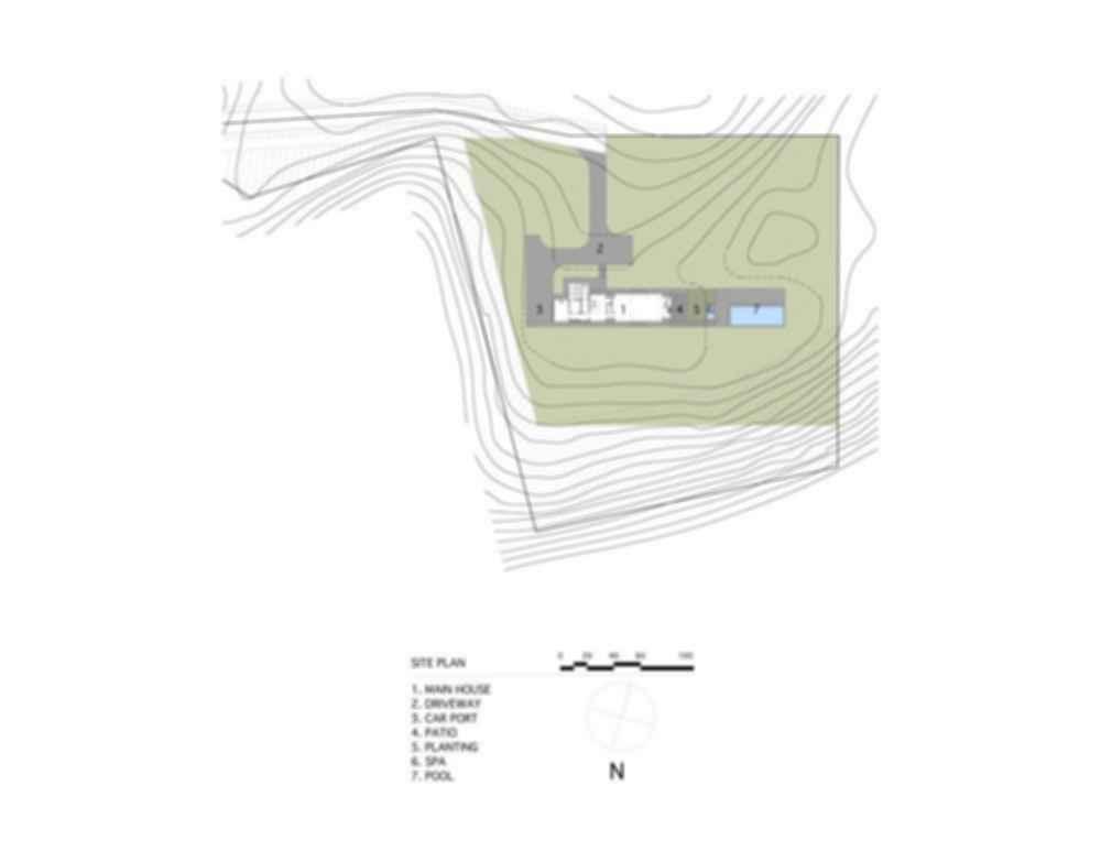 Pryor Residence - Site Plan