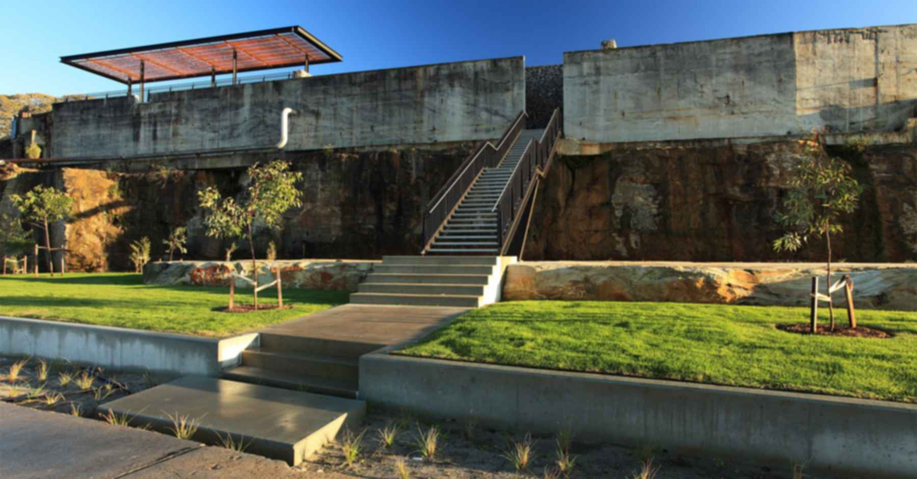 Ballast Point Park - Stairs