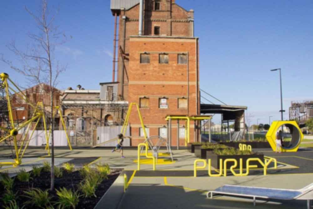Hart's Mill - Playground