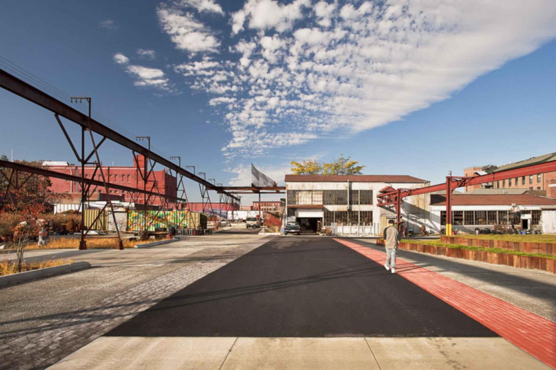 The Steel Yard - Overlooking Yard