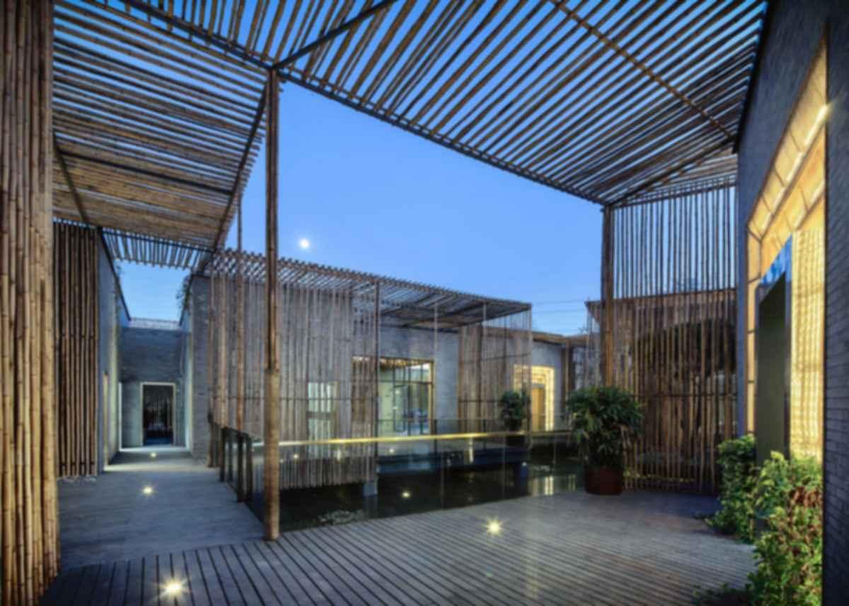 Zen-Filled Tea House - Exterior/Decking