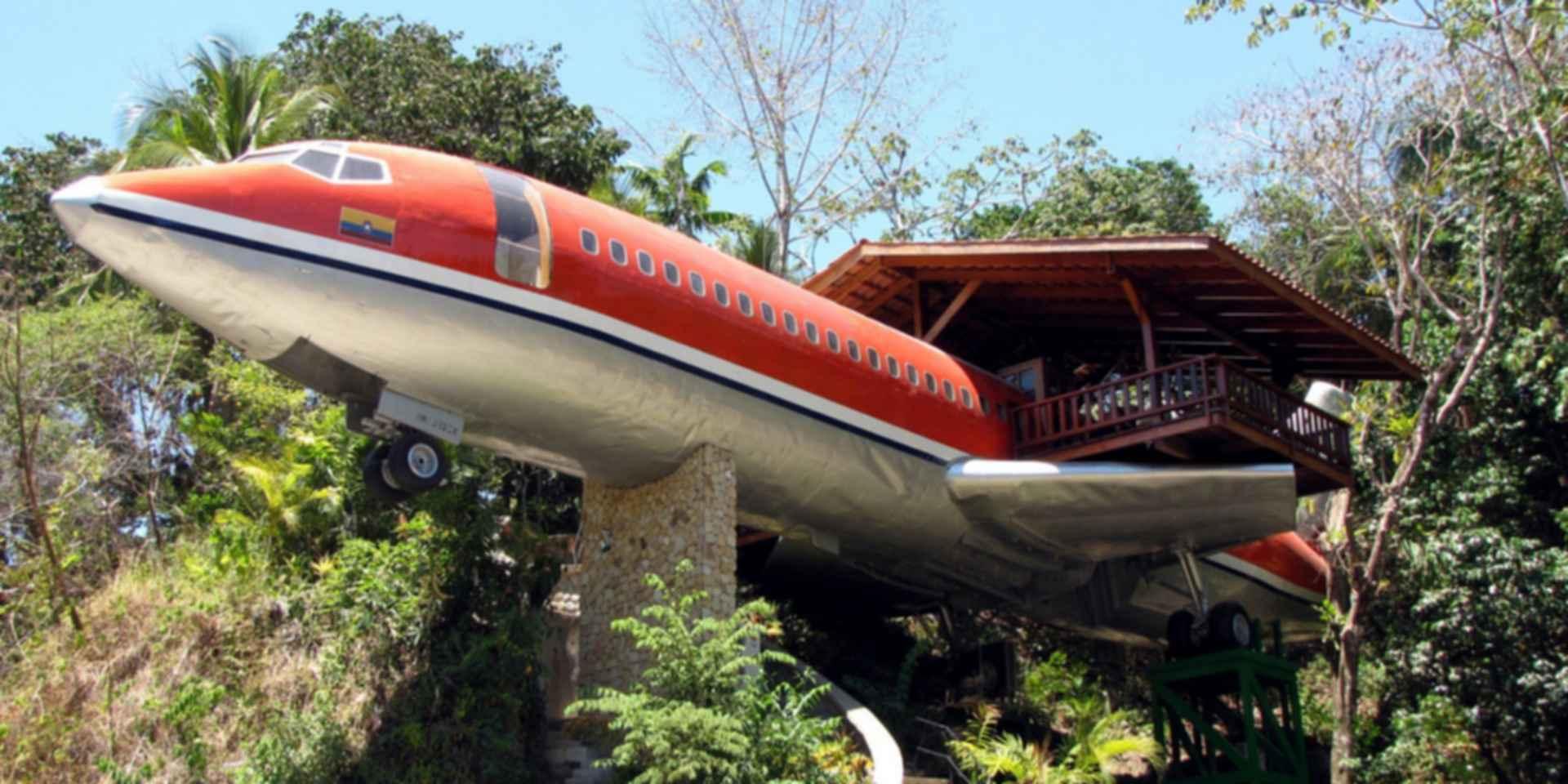 Costa Verde Airplane Hotel - Exterior