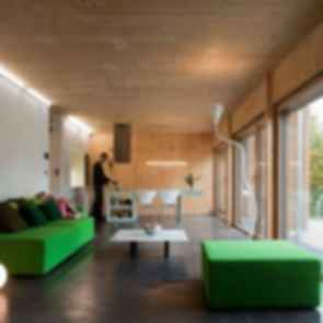 Passive House - Interior/Lounge