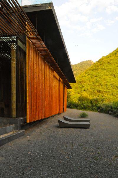 Great Bamboo Wall Exterior Modlar Com
