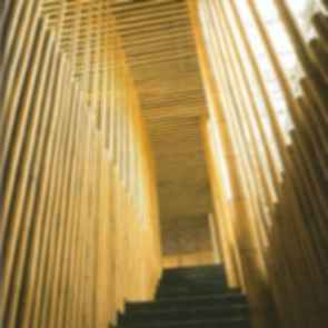 Great Bamboo Wall - Stairs
