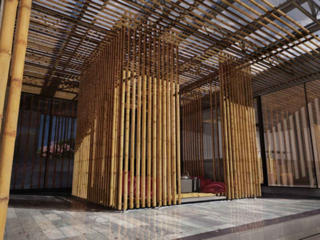 Great Bamboo Wall - Exterior/Interior
