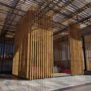 Great Bamboo Wall - Exterior/Interior