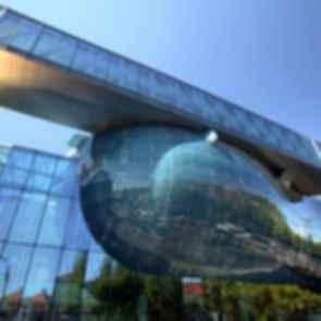 Kunsthaus Graz - Exterior Glass