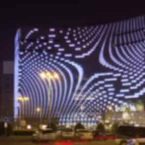 Star Place Facade - Exterior at Night