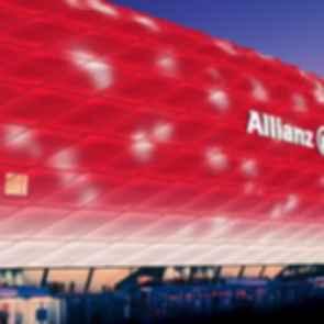 Allianz Arena - Exterior at Night