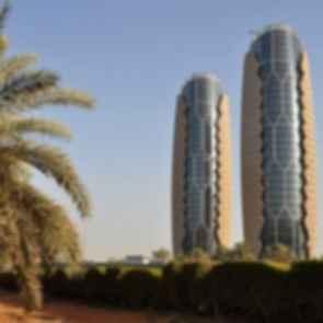 Al Bahar Towers - Exterior