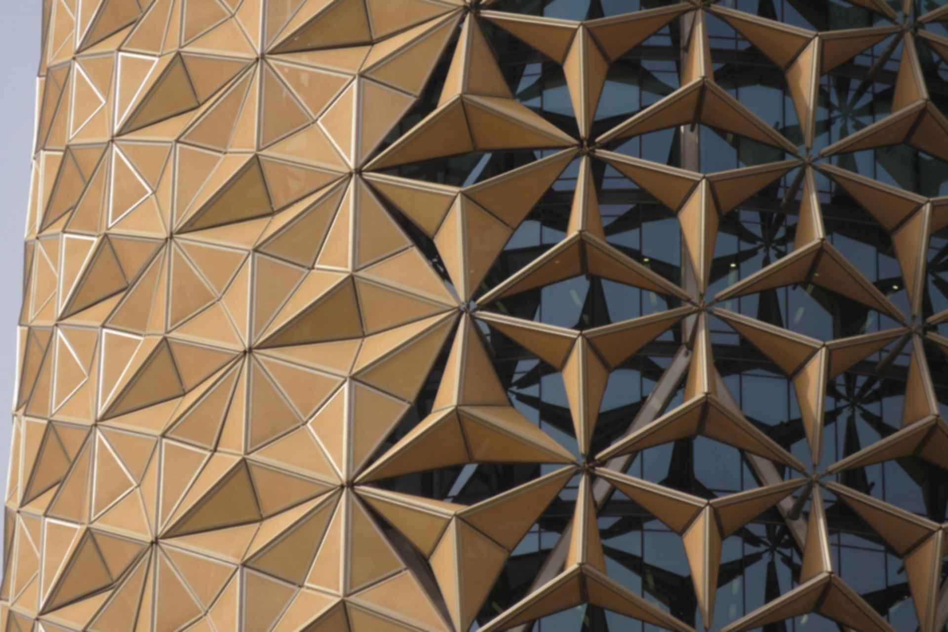 Al Bahar Towers - Exterior Sunscreens