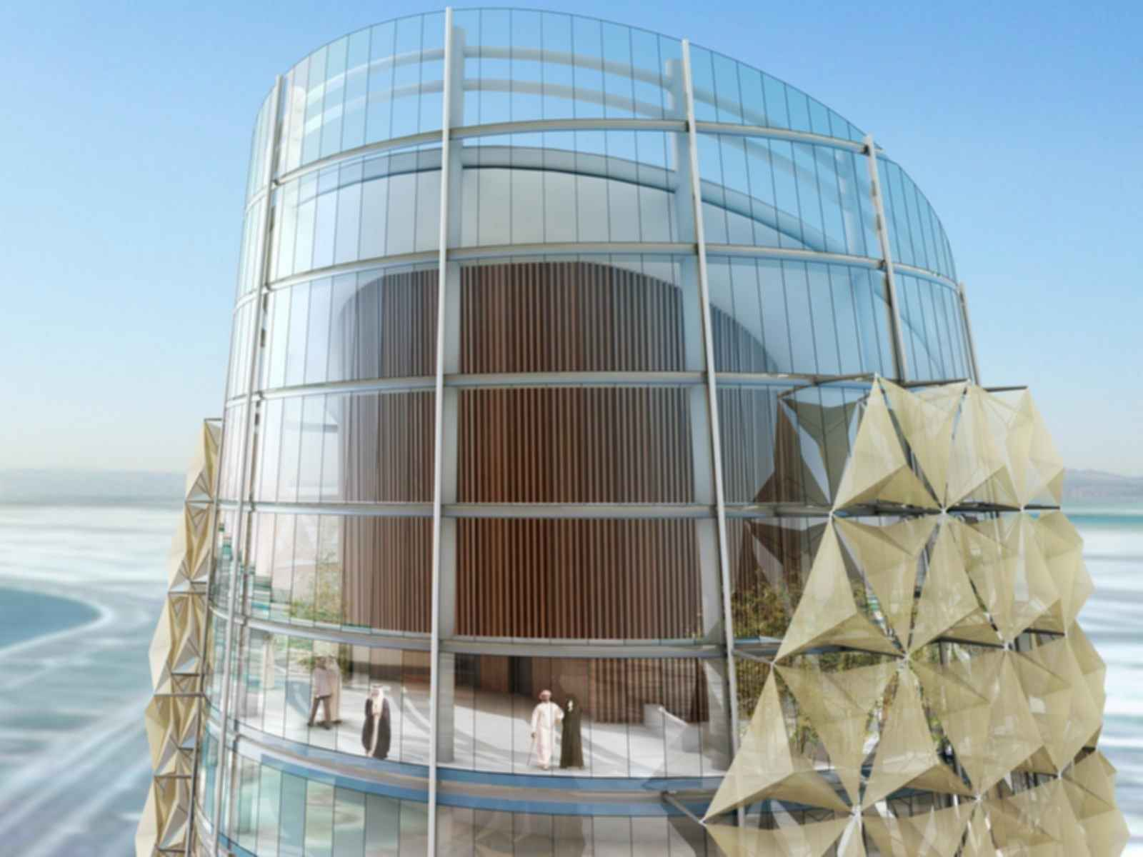 Al Bahar Towers - Concept Design
