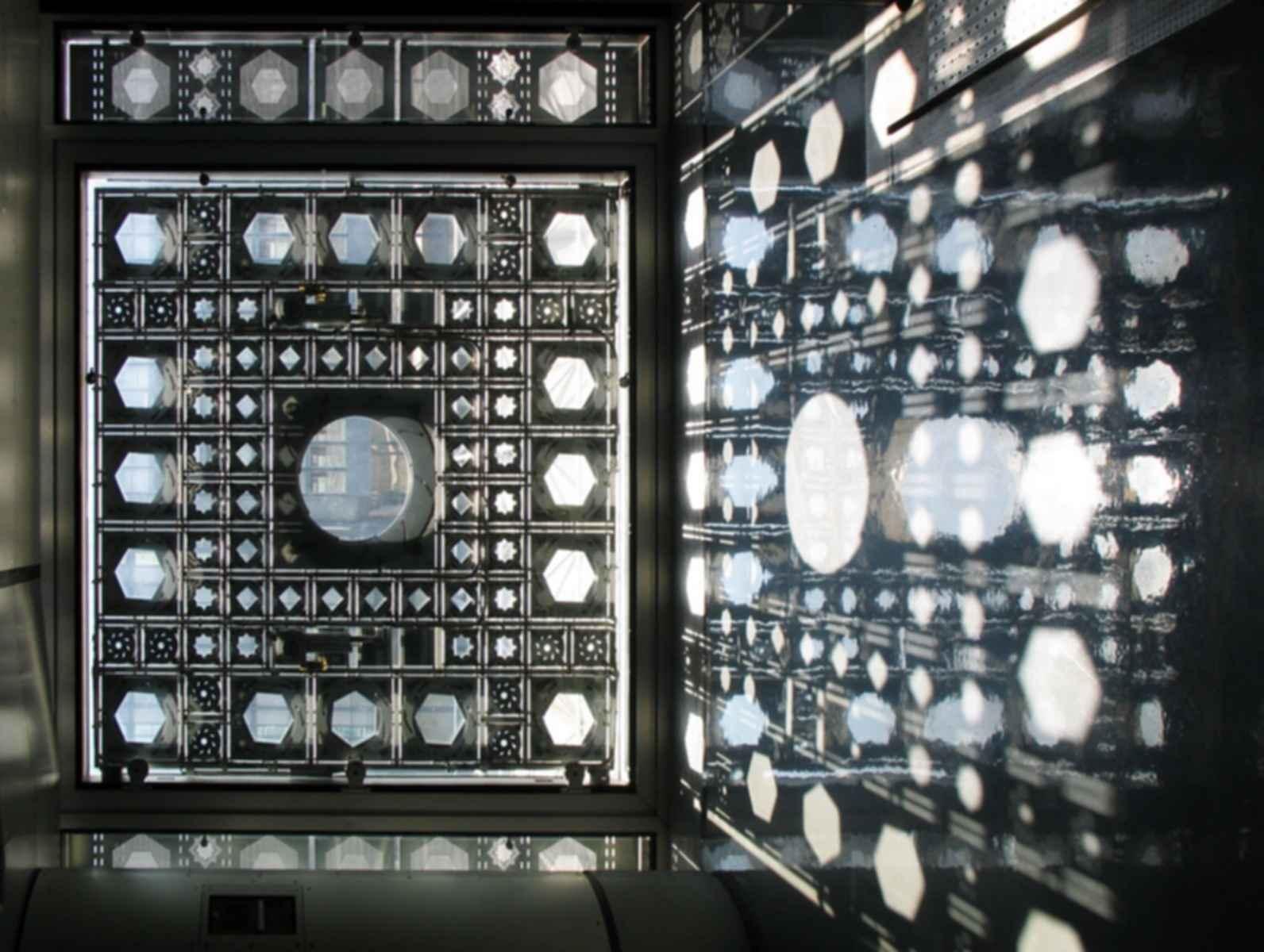 Arab World Institute - Interior Glass